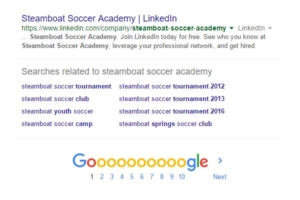 Google Related Search Terms