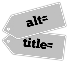alt= tag and title= tag
