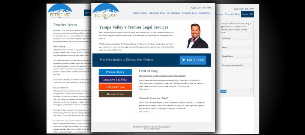 Petis Law Portfolio